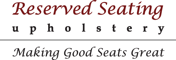Reserved Seating Upholstery Logo